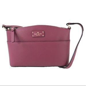 NWOT Kate Spade Burgundy Crossbody Purse Bag